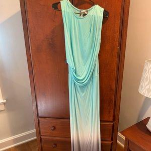 Ombré maxi dress
